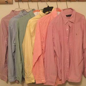 Polo Ralph Lauren Oxford Shirts